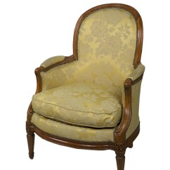 French Bergere Chair Antique Wooden Church Chairs Armchair Of Transition Period Ref 39379