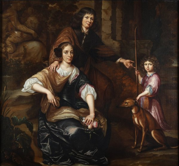 Family Portrait - 17th Century Dutch School Ref.64048