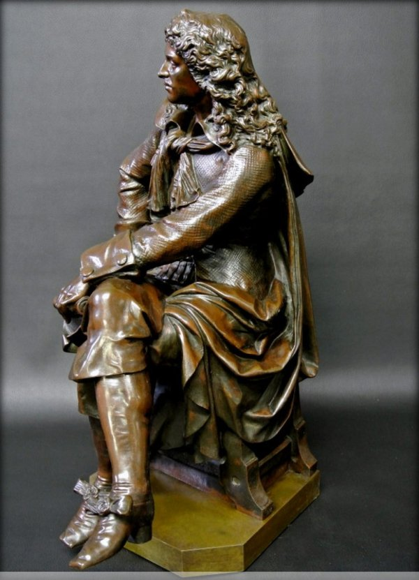 Bronze Moliere Statue - Ref.42159