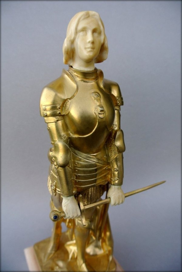 Joan Of Arc In Armor Georges Saulo - Ref.48947