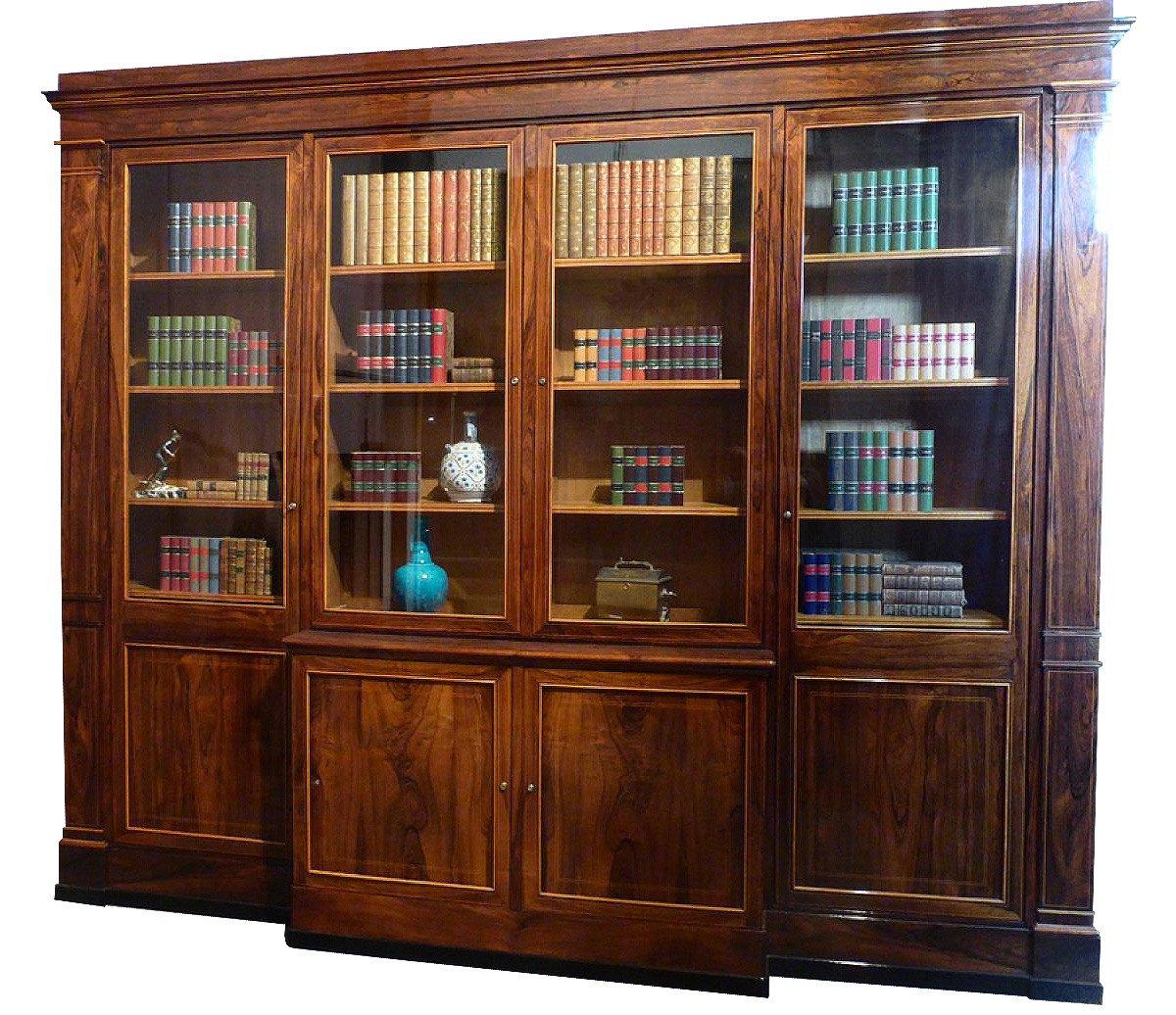 grande bibliotheque epoque xixe