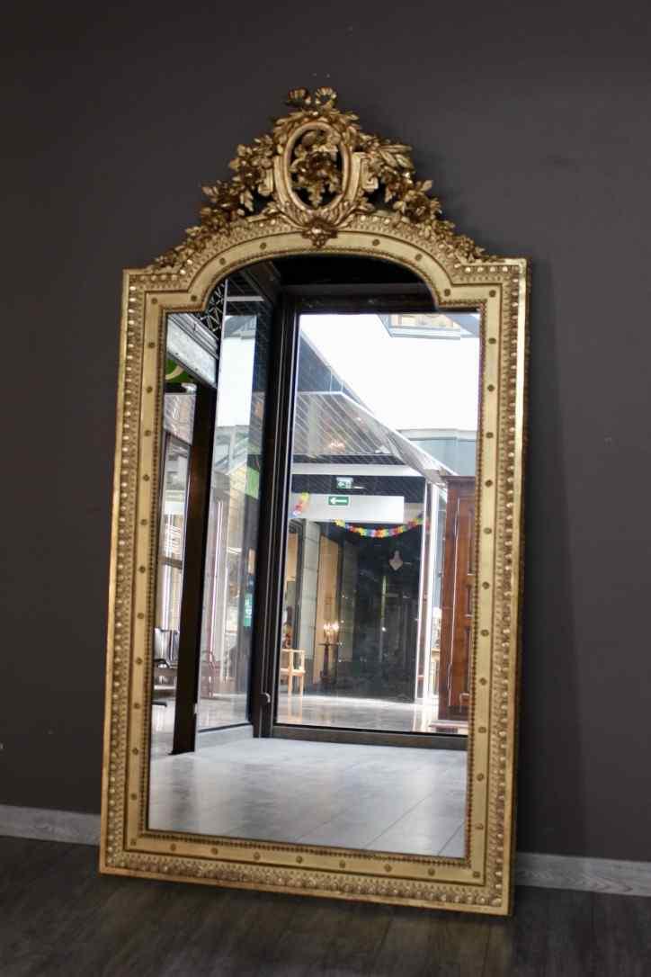Specchio antico di stile Luigi XVI  AnticSwiss