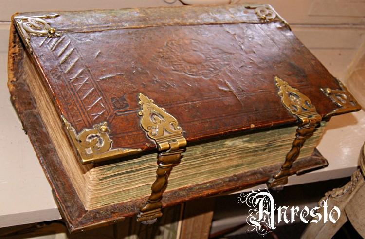 Antiek 18de eeuwse Statenbijbel