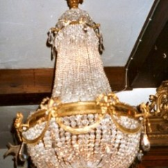 Bronze Kitchen Chandelier Exhaust Fans Wall Mount Anresto, Antique Lighting. Sac A Perle, Crystal Hanging Lamp.
