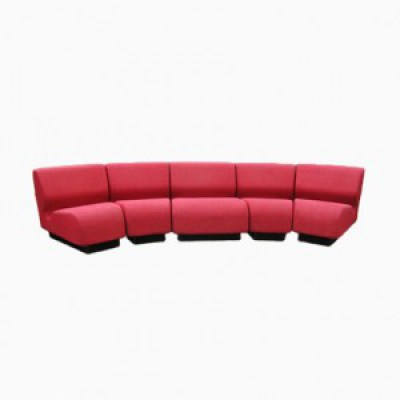 chadwick sofa how to fix flat leather cushions 5 piece modular by don for herman miller elementenbank vintage