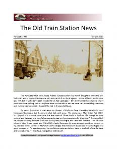 2013 02 newsletter