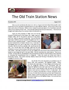 2013 08 newsletter
