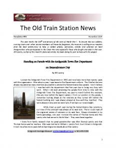 2014 11 newsletter