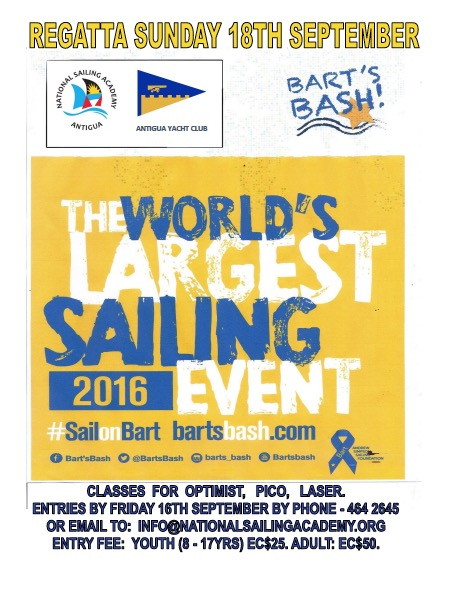 Bart's Bash Fund Raiser for Sailability