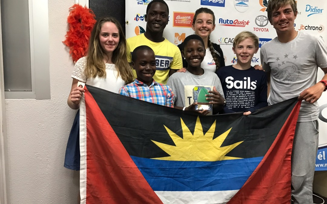 Antigua Youth Sailors excel in Martinique