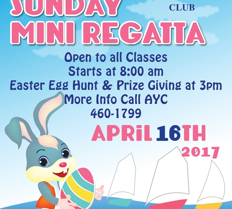 Easter Sunday Mini Regatta – All Classes