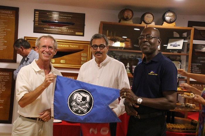 Salty Dawgs visit the Antigua Yacht Club!