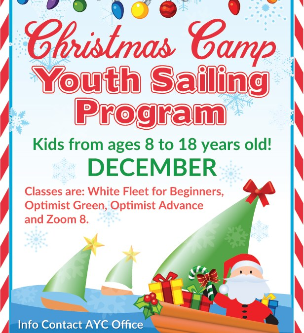 Christmas Camp: Youth Sailing Program