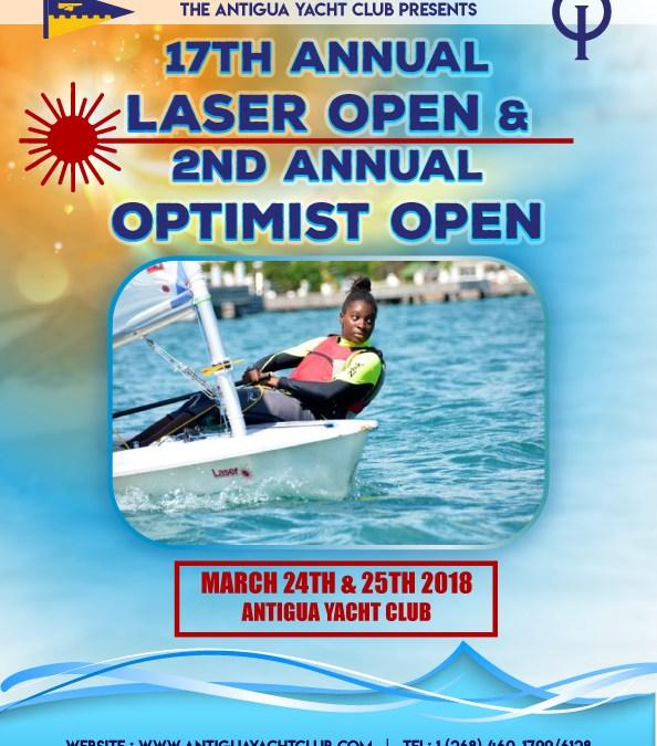 Antigua Laser & Optimist Open