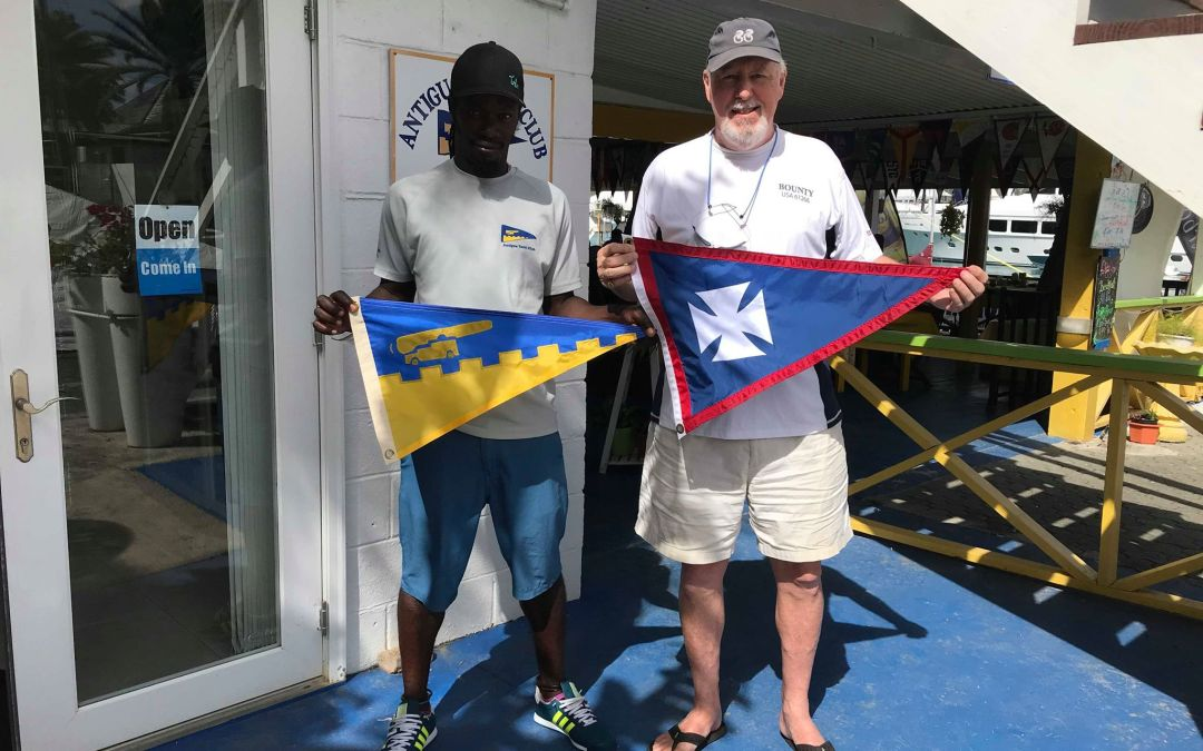 Burgee Exchange with American Yacht Club