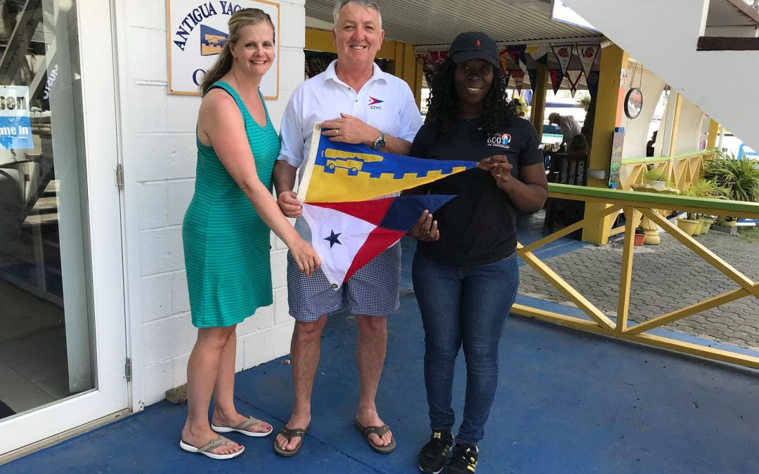 Burgee Exchange with City Island Yacht Club