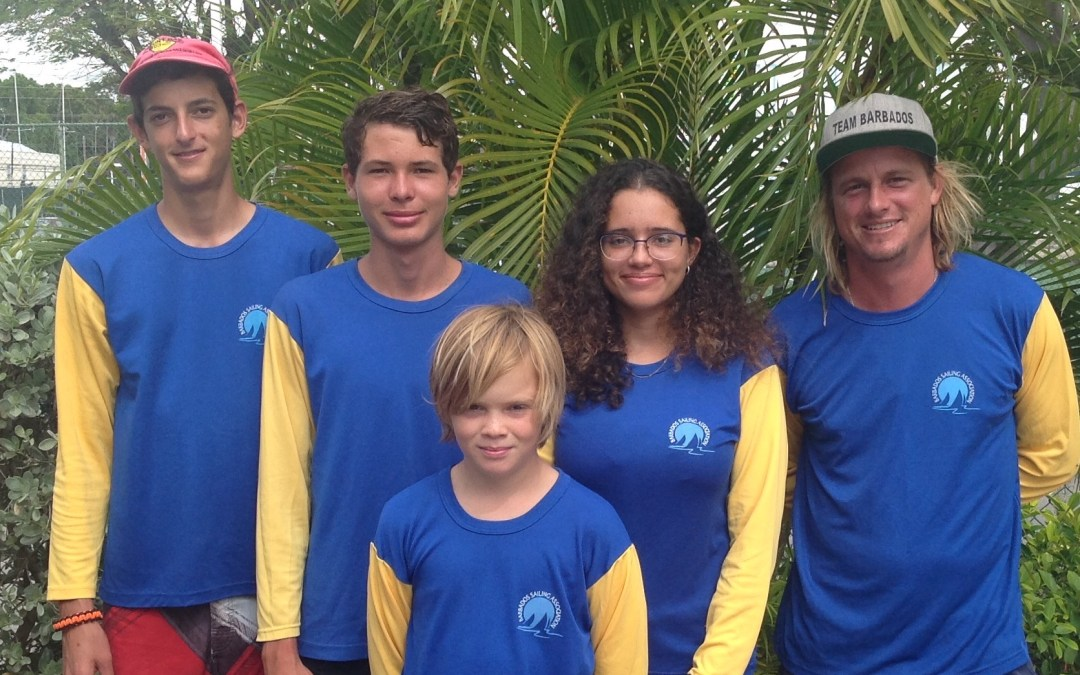 Meet Team Barbados – Participants in the CSA Caribbean Dinghy Championships!