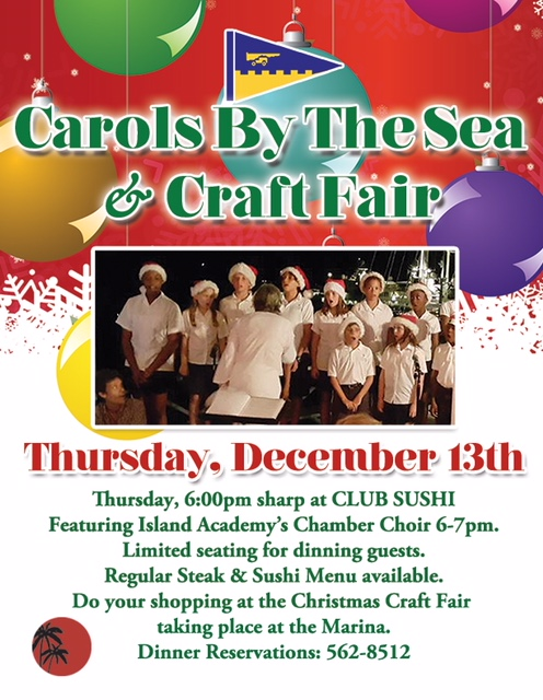 Carols by the Sea & Craft Fair