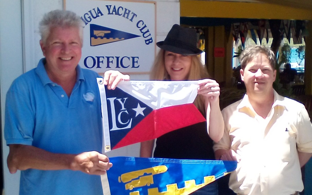 Burgee Exchange with Lavon Yacht Club of Texas