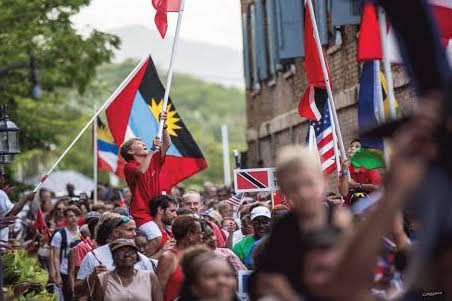 Colourful parade of nations to kick off championships