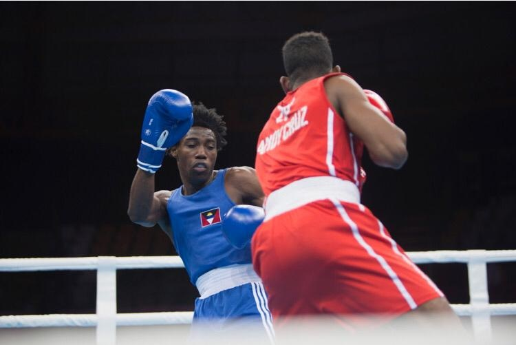 AYC congratulates Antiguan Boxer, Alston Ryan