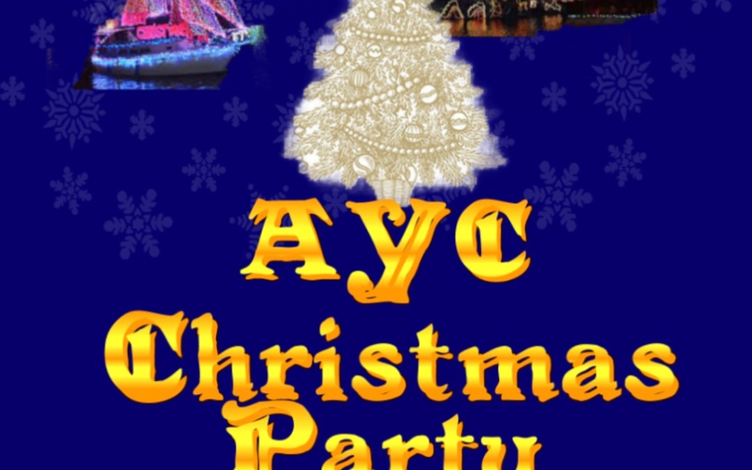 AYC Christmas Dinner – Friday 13th December – Tickets at AYC