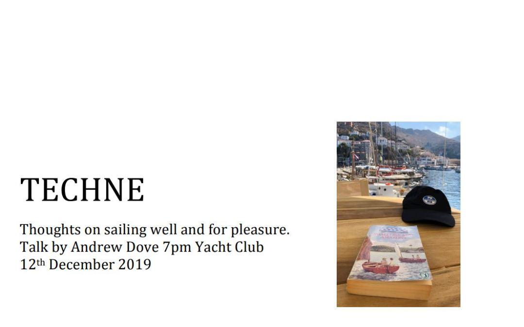 Andrew Dove Talk – Thursday 12th December 7PM AYC