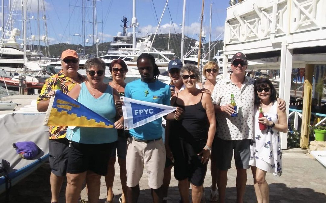 Burgee Exchange with Fifty Point Yacht Club