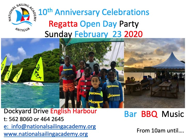 National Sailing Academy 10th Anniversary Celebration
