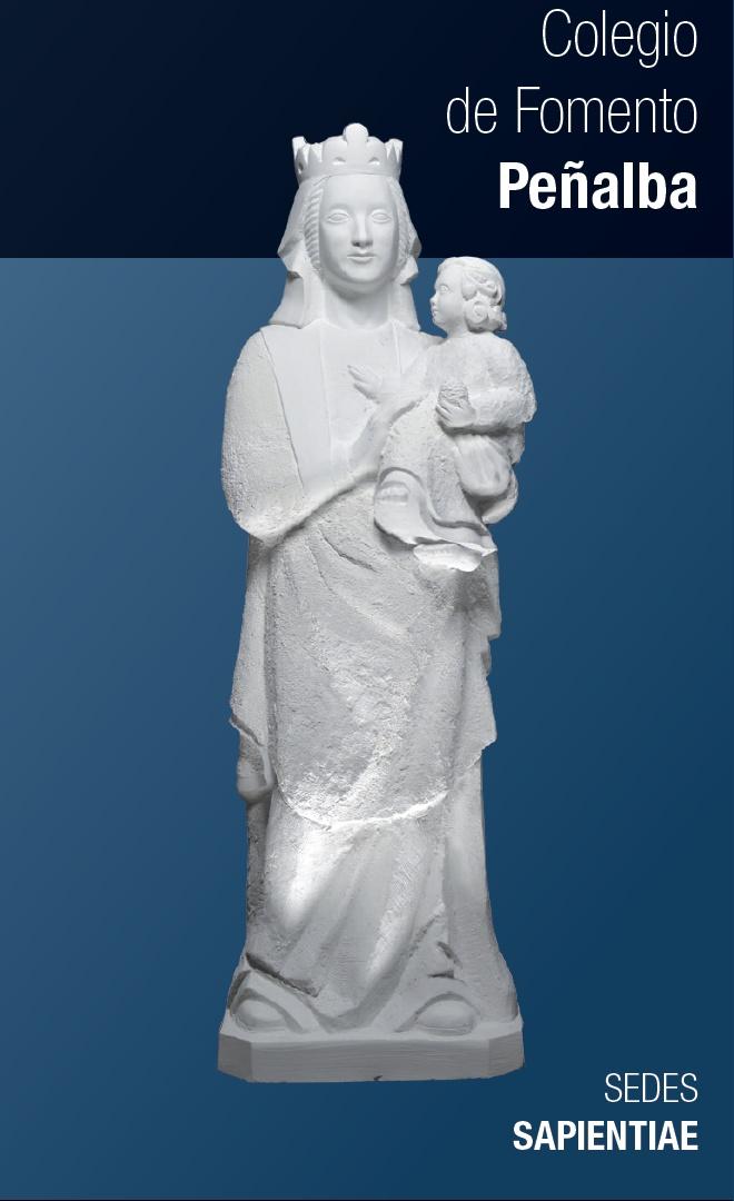 Imagen de la Virgen de Peñalba