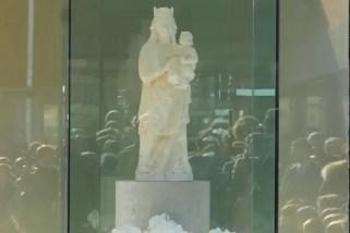 Entronización Virgen de la Ermita
