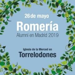 26 de mayo. Romería Alumni en Madrid 2019