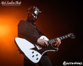 Ghost performs at the Cure Insurance Arena in Trenton, NJ on 10-25-2019.