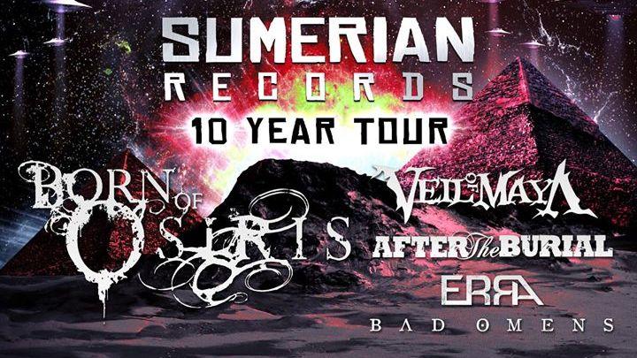 SUMERIAN RECORDS 10 YEAR TOUR