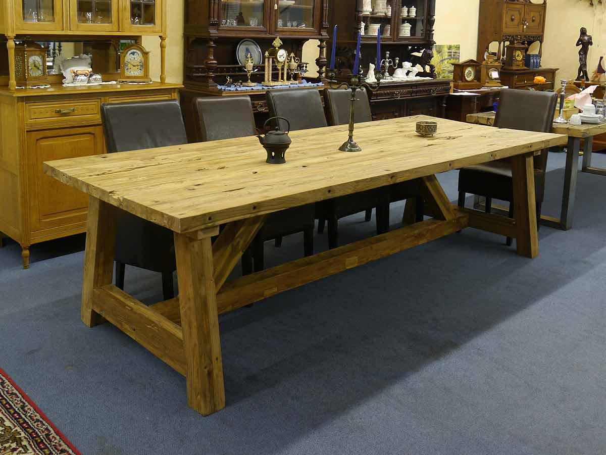 Esstisch Tisch Esszimmertisch Teakhholz massiv 12 Personen