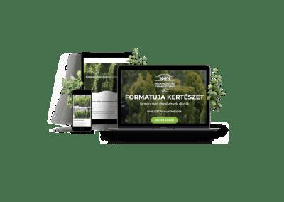 Formatuja honlap – kertészeti téma