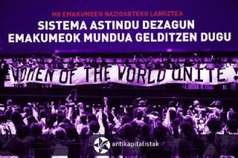 Hagamos temblar el sistema: ¡nosotras paramos el mundo!