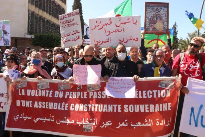 Argelia : ¡No a la mascarada de las elecciones legislativas del 12 de junio!