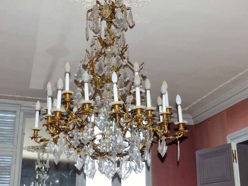 chandeliers louis xv