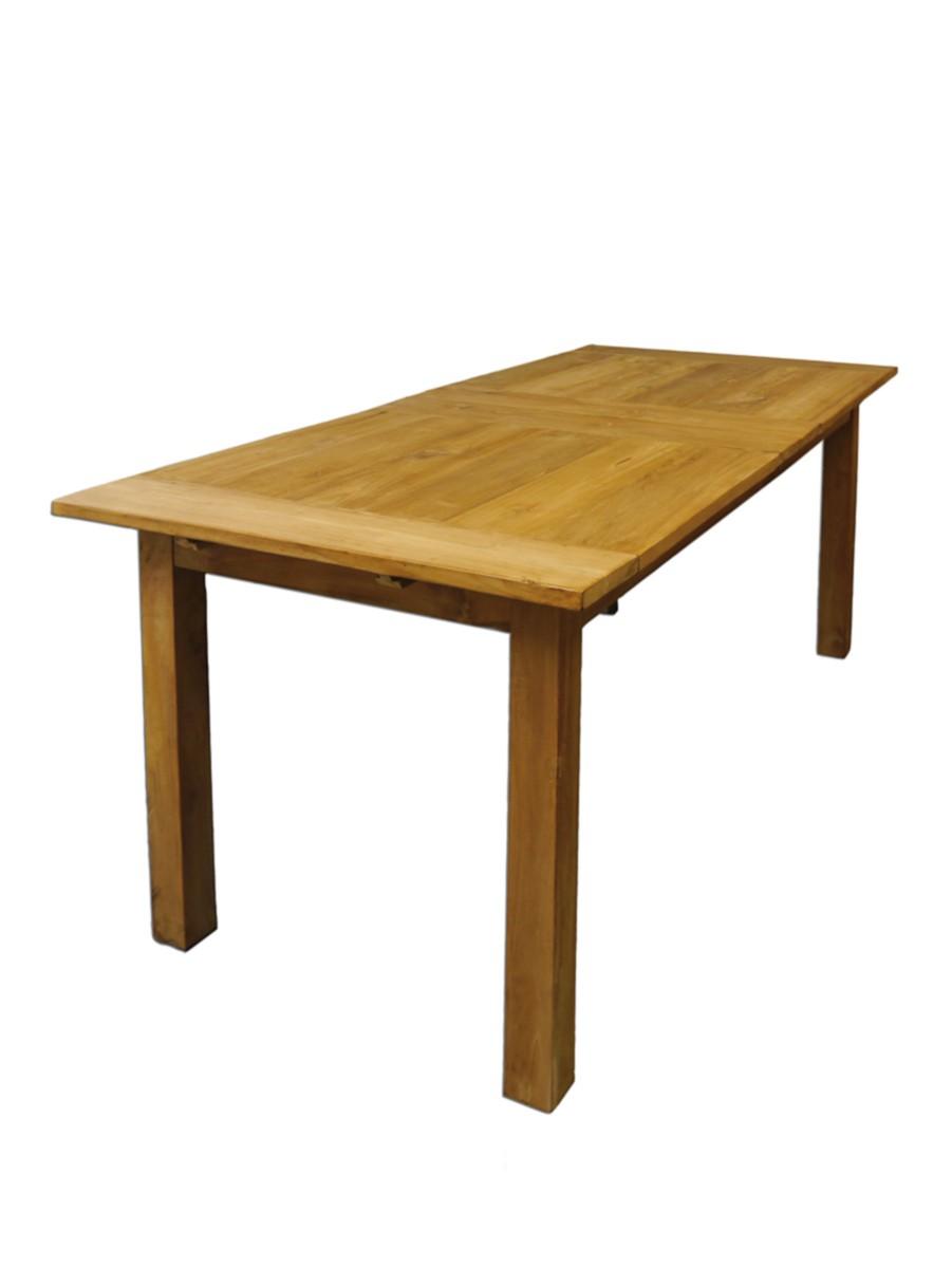 Esstisch Tisch Esszimmertisch massiv Teakholz ausziehbar 812 Personen 2373  eBay