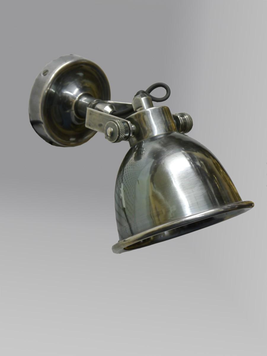 Wandlampe Wandleuchte Lampe in Antik Silber 2519  eBay