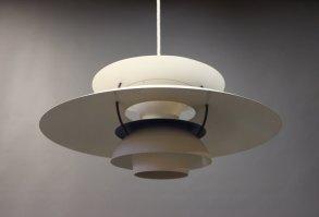 www.Antikvitet.net   PH5 lampe designet af Poul Henningsen ...