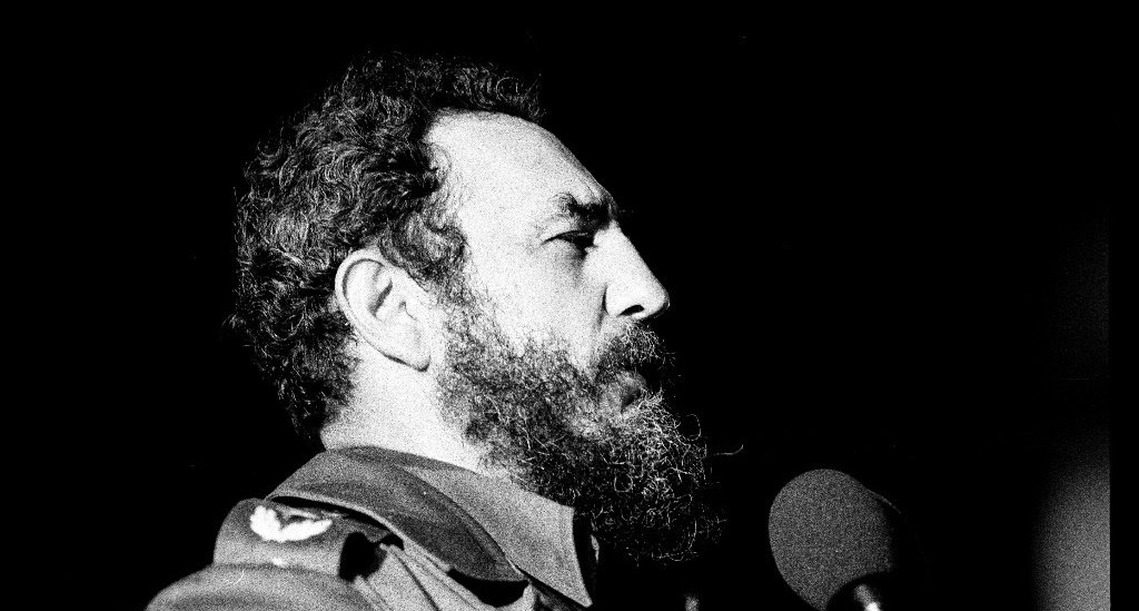 Fidel Castro in Havana, 1978.Credit: Marcelo Montecino