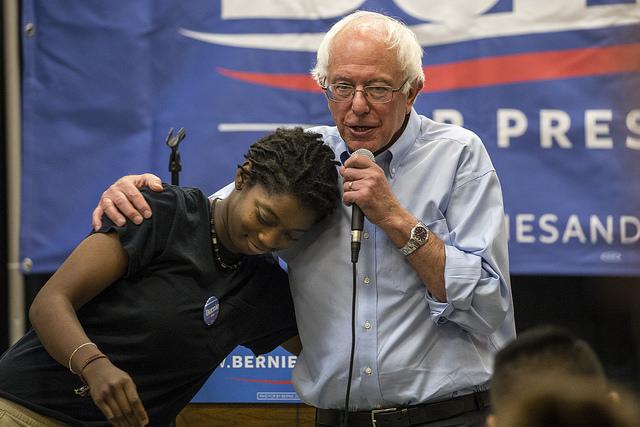 Sen. Bernie Sanders (Phil Roeder photo)