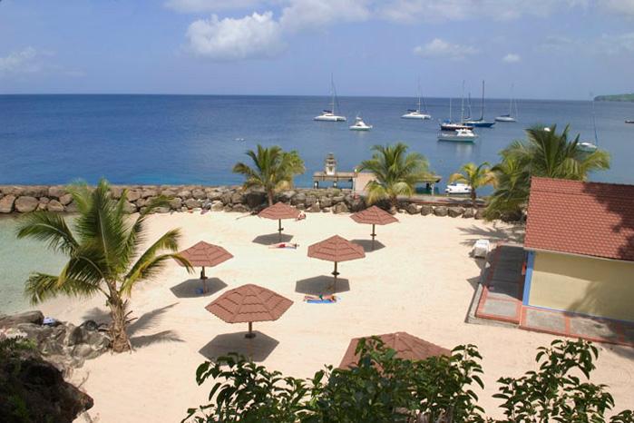 Plage La Batelire  Schoelcher Martinique