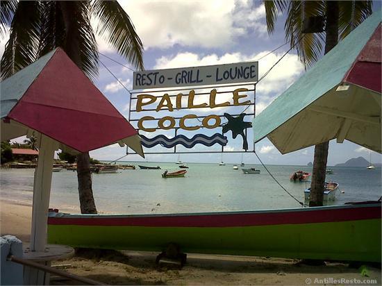 Paille Coco restaurant  SAINTEANNE Martinique