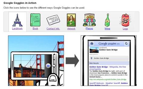 Google gogles