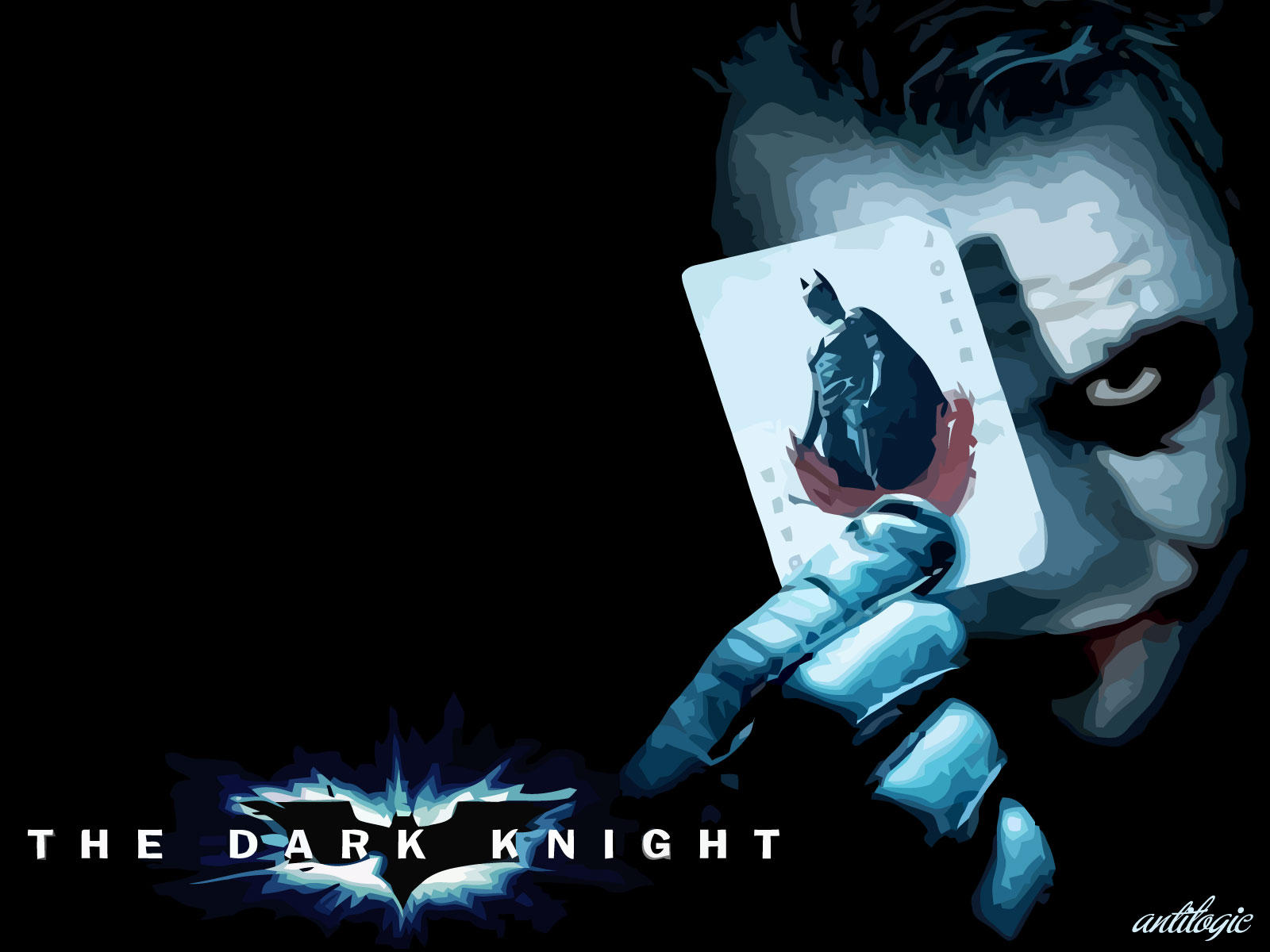 The Dark Knight – Joker Wallpaper 1600×1200