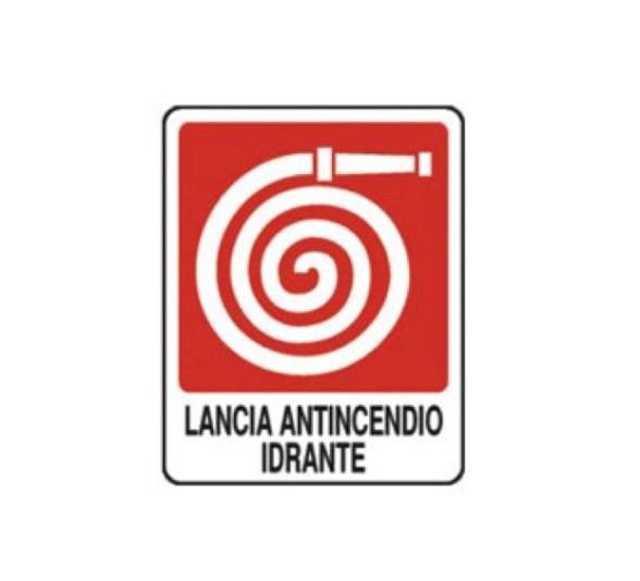 SEGNALETICA LANCIA ANTINCENDIO IDRANTE