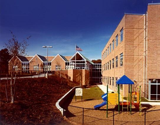Antinozzi Associates, Education Architecture, Spring Glen Elementary School, Hamden, Connecticut